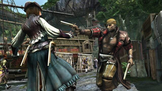 Filtradas las primeras im�genes del modo multijugador de Assassin's Creed IV: Black Flag