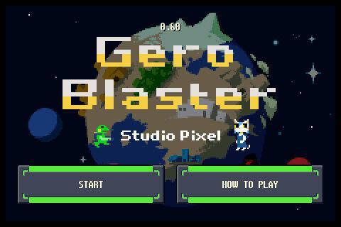 El creador de Cave Story anuncia Gero Blaster