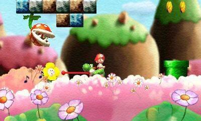 Nuevas pantallas para Yoshi's New Island