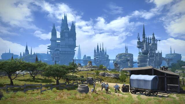Nuevas imágenes e ilustraciones de Final Fantasy XIV