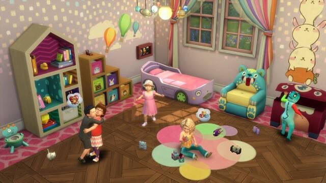 Los infantes invaden los Sims 4 con la nueva actualización