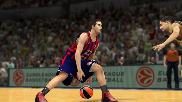 La Euroliga se muestra en nuevas im�genes y tr�iler de NBA 2K14