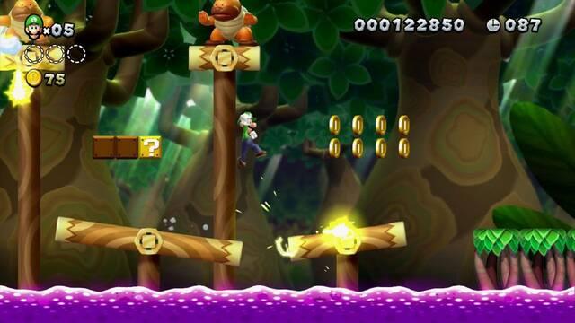 Nuevas imágenes de New Super Luigi U