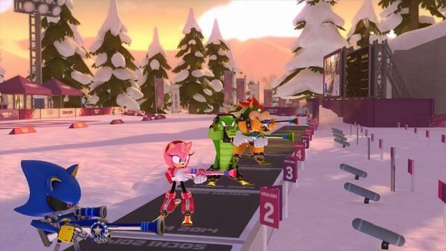 Nuevas im�genes de Mario & Sonic en los Juegos Ol�mpicos de Invierno 2014