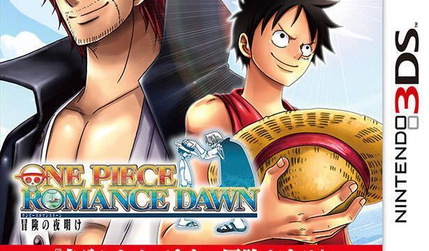 One Piece Romance Dawn nos muestra su portada nipona