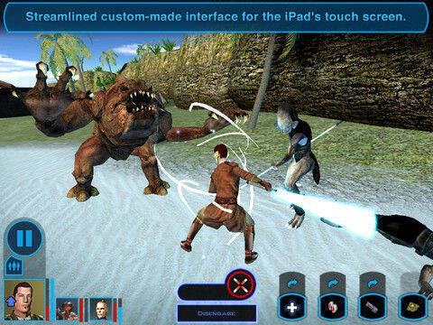 Star Wars: Knights of the Old Republic ya disponible en iPad