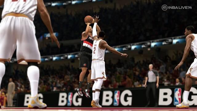 NBA Live 14 muestra su primera imagen de la jugabilidad