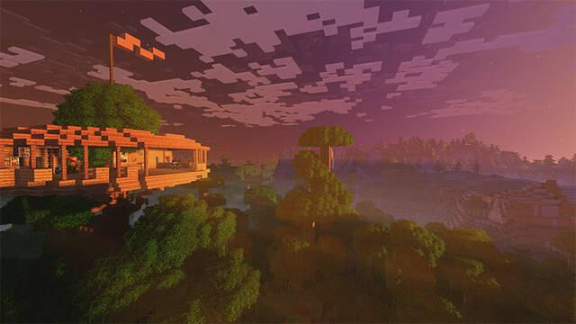 Minecraft nos adelanta el Super Duper Graphics Pack