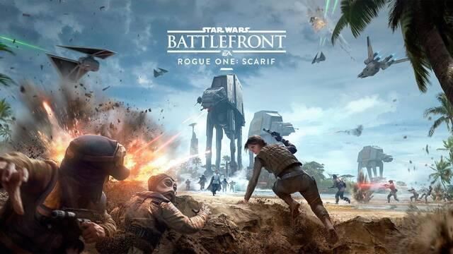 El contenido basado en Rogue One de Star Wars: Battlefront presenta su primer tráiler