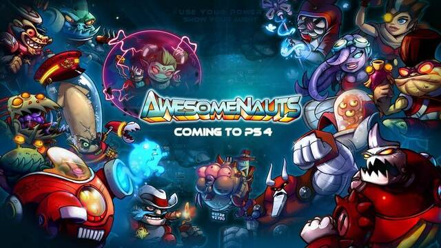 Awesomenauts llegará a PlayStation 4