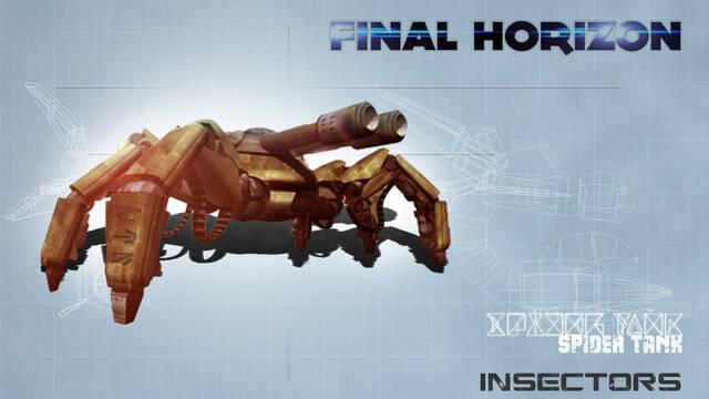 Anunciado Final Horizon, estrategia en tiempo real para PS4 y Vita