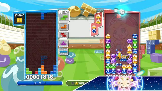 Puyo Puyo Tetris muestra su jugabilidad