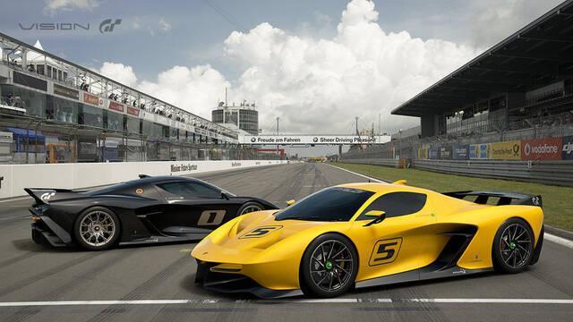 Así luce la beta de Gran Turismo Sport
