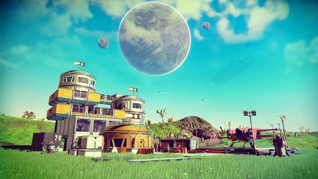 Ya está disponible la actualización Foundation de No Man's Sky