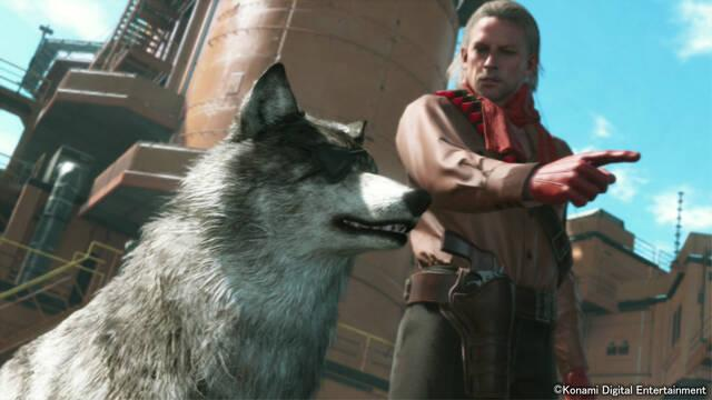 Podrás adoptar un lobo en Metal Gear Solid V: The Phantom Pain