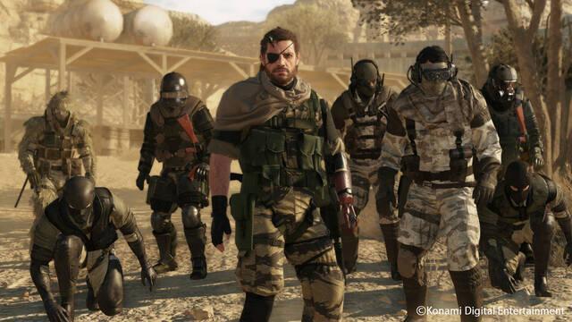 La descarga de Metal Gear Online 3 ocupa 1GB