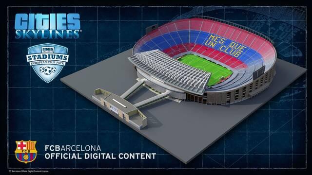 Cities: Skylines añade estadios y clubs de fútbol reales con su nuevo contenido