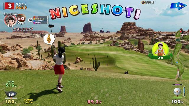 Everybody's Golf llegará el 30 de agosto a PlayStation 4
