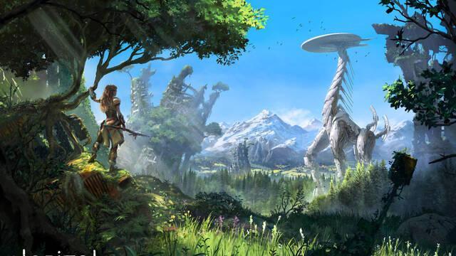 Horizon: Zero Dawn es el juego más vendido la última semana en Reino Unido