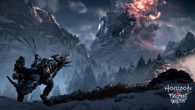 Horizon: Zero Dawn muestra los escenarios de The Frozen Wilds en vídeo