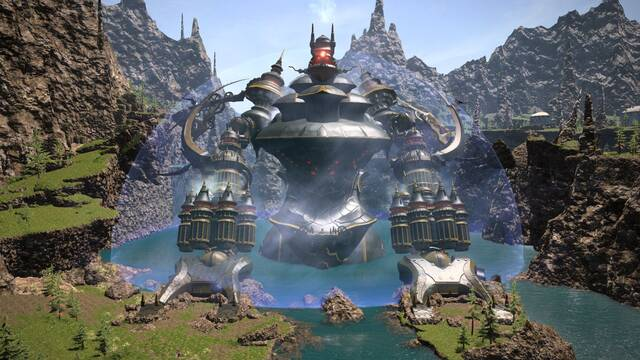 M�s im�genes de la actualizaci�n 3.4 de Final Fantasy XIV