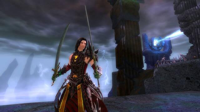 Mostrado Shiro Tagachi de Guild Wars 2: Heart of Thorns