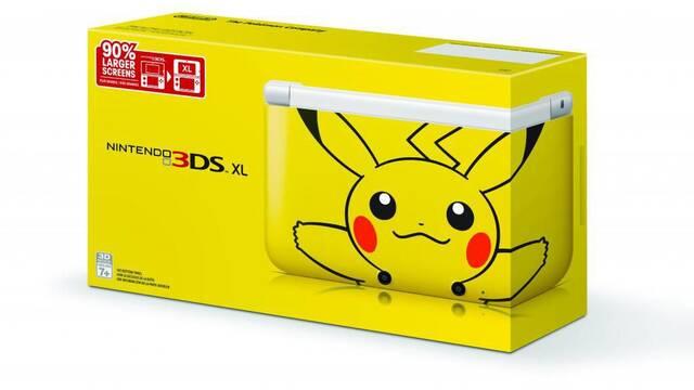 La edición Pikachu de Nintendo 3DS llegará a Estados Unidos