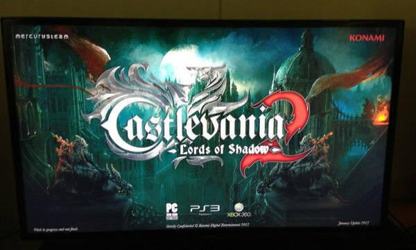 Castlevania: Lords of Shadow 2 ya se está mostrando a la prensa