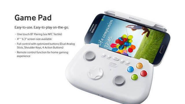 Así es el Game Pad del Samsung Galaxy S4