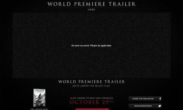 Assassin's Creed IV podr�a llegar el 29 de octubre