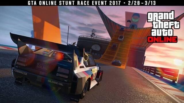 Anunciado el calendario de carreras acrobáticas de GTA Online