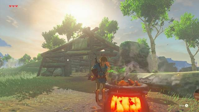 Crean una aplicación con las recetas de The Legend of Zelda: Breath of the Wild