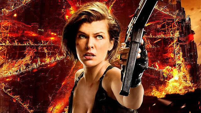 Resident Evil: Capítulo final es la película más exitosa de la saga