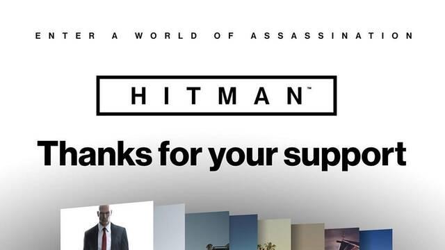 Hitman revela sus estadísticas con un gráfico