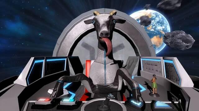 Goat Simulator estrenará mañana en PS4 su nuevo DLC basado en el espacio