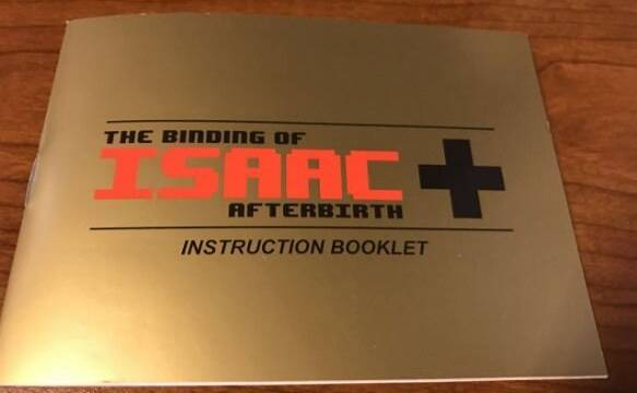 The Binding of Isaac realiza un homenaje a The Legend of Zelda con su manual