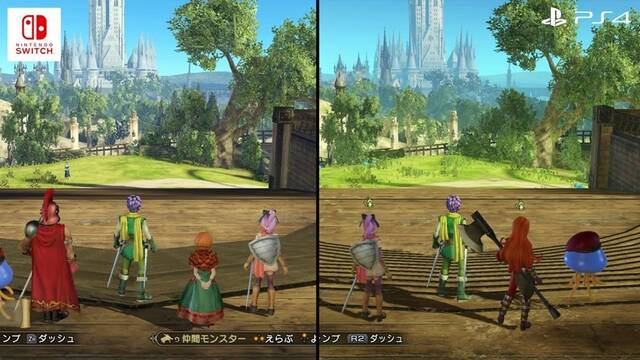 Comparan Dragon Quest Heroes II en Switch con otras versiones