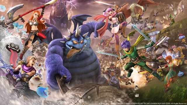 Dragon Quest Heroes II presenta a sus distintos héroes y personajes en vídeo