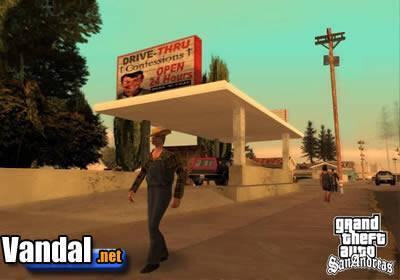 Nuevas im�genes de GTA: San Andreas
