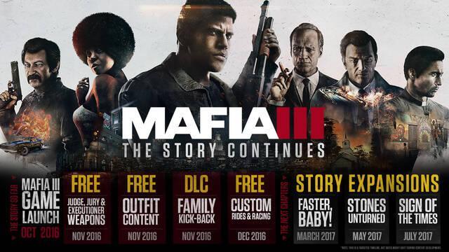 La primera expansión de Mafia III llegará el 28 de marzo