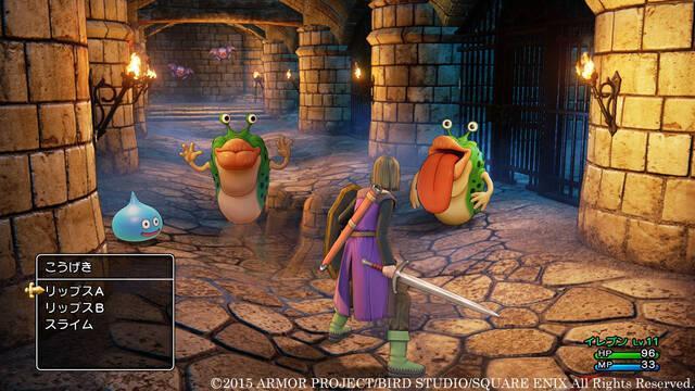 Habrá novedades de Dragon Quest XI el 17 de diciembre