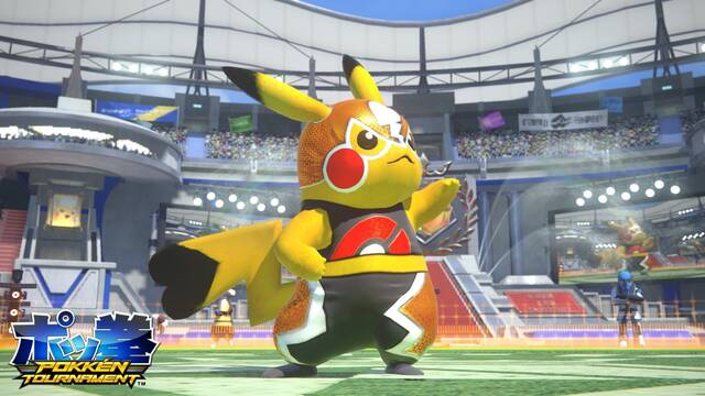 La recreativa de Pokkén Tournament se actualiza en Japón