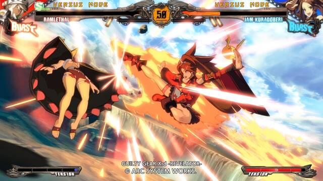 Guilty Gear Xrd - Revelator- llegará a PC el 14 de diciembre