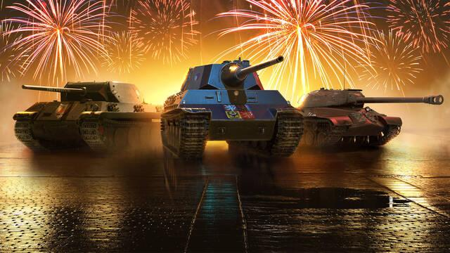 World of Tanks celebra su aniversario en consolas