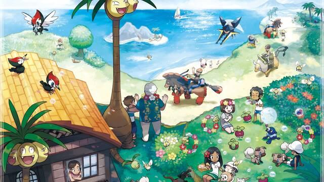 Comienza la primera Misión Global de Pokémon Sol y Luna