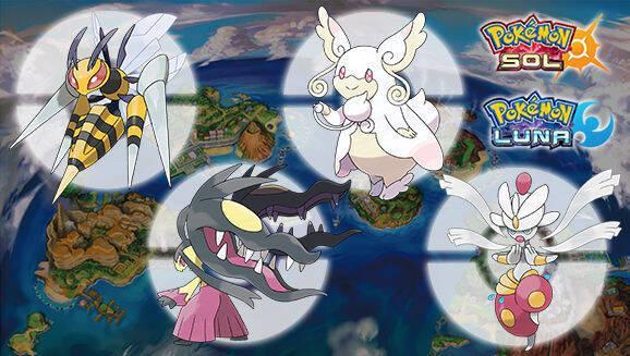Nintendo reparte nuevas Megapiedras en Pokémon Sol y Luna