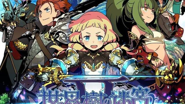 Ya disponible la demo de Etrian Odyssey V: Beyond the Myth