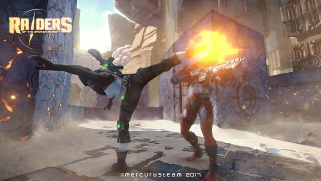 Raiders of the Broken Planet nos ofrece su primer vídeo de desarrollo