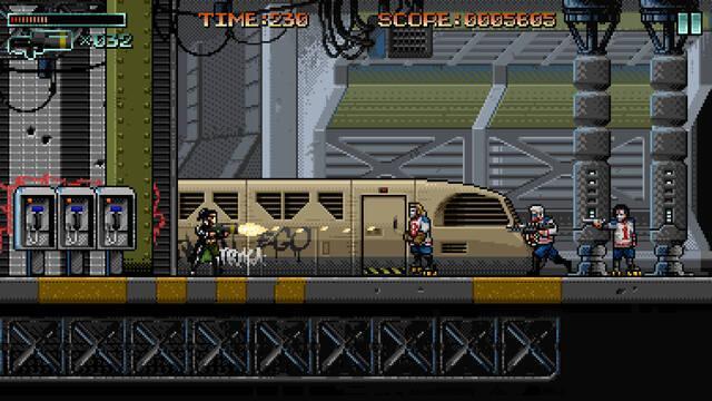 Anunciado Huntdown, un juego de acción estilo retro