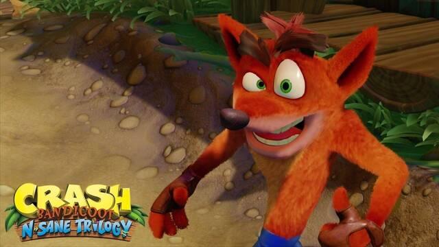 Crash Bandicoot lidera una semana más las ventas de Reino Unido